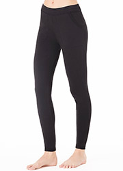 Cuddl Duds Comfort Wear Leggings With Pockets Zoom 2