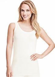 Cuddl Duds Softwear With Stretch Reversible Tank Top Zoom 4