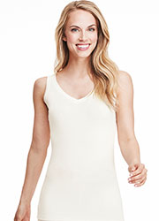 Cuddl Duds Softwear With Stretch Reversible Tank Top Zoom 3