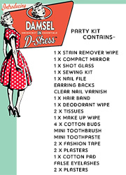 Danielle Creations Damsel In D-Stress Party Essentials Bag Zoom 3
