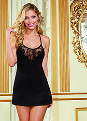 Dreamgirl Round Neck Soft Chemise