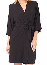 DKNY Urban Essentials Three Quarter Sleeve Robe Zoom 2