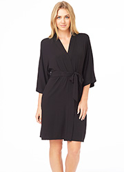 DKNY Urban Essentials Three Quarter Sleeve Robe Zoom 1
