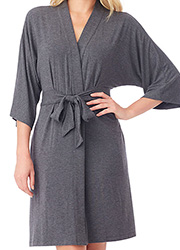 DKNY Urban Essentials Three Quarter Sleeve Robe Zoom 4