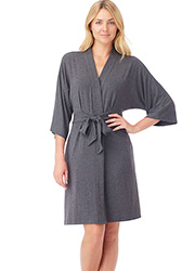 DKNY Urban Essentials Three Quarter Sleeve Robe Zoom 3
