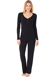 DKNY Urban Essentials Long Pyjama Set Zoom 1