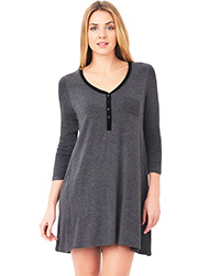 DKNY Urban Essentials Long Sleeve Sleepshirt