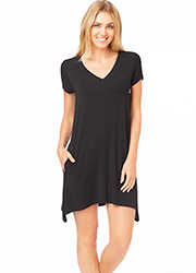 DKNY Urban Essentials Short Sleeve Sleepshirt Zoom 1