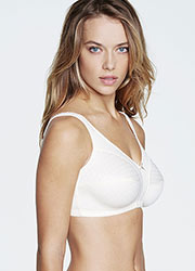 Dominique Marcelle Cotton Soft Cup Comfort Bra Zoom 2
