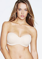 Dominique Oceane Strapless Smooth Bra With Hidden Wire Zoom 1