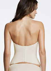 Dominique Paige Low Back Seamless Padded Basque Zoom 3