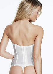 Dominique Rosemarie Embroidered Basque With Straps Zoom 3