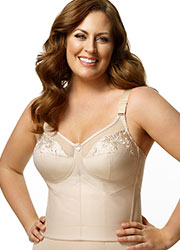 Elila Embroidered Soft Cup Basque Zoom 3