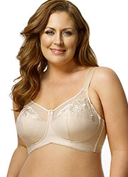 Elila Embroidered Soft Cup Bra Zoom 2