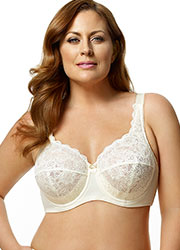 Elila Full Cup Lace Underwired Bra Zoom 4