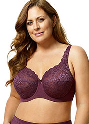 Elila Full Cup Lace Underwired Bra Zoom 3