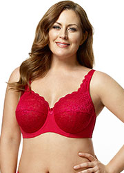 Elila Full Cup Lace Underwired Bra Zoom 1
