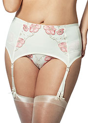 Elila Glamour Embroidery Garter Zoom 1