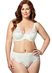Elila Glamour Embroidery Underwired Bra Zoom 4