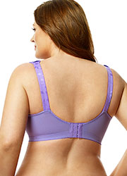 Elila Jacquard Tricot Soft Cup Bra Zoom 2