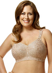 Elila Jacquard Tricot Soft Cup Bra Zoom 4