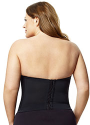 Elila Lace Strapless Basque Zoom 2