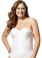 Elila Smooth Strapless Basque Zoom 3