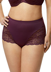 Elila Stretch Lace Cheeky Shortie Zoom 1