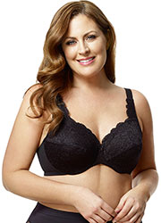 Elila Stretch Lace Underwired Bra Zoom 3