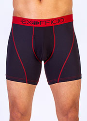 ExOfficio Mens Sport Mesh 6 Inch Boxer Brief