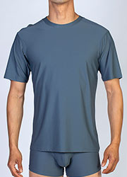 ExOfficio Mens Sport Mesh Crew Neck Zoom 2