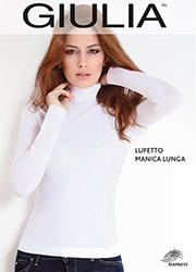 Giulia Lupetto Seamless Long Sleeve Polo Neck