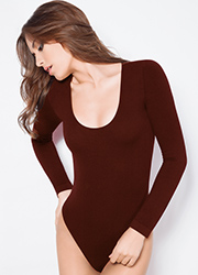 Giulia Seamless Scoop Long Sleeve Body Zoom 3