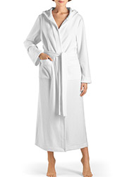 Hanro Plush Long Hooded Robe Zoom 1