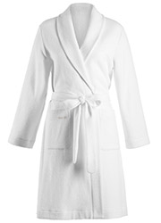 Hanro Plush Short Robe Zoom 2