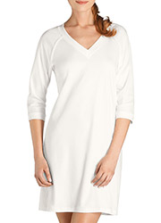 Hanro Pure Essence Three Quarter Sleeve Nightdress Zoom 2