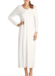 Hanro Pure Essence Long Sleeve Nightdress Zoom 1
