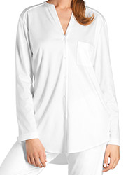 Hanro Pure Essence Long Sleeve Pyjamas Zoom 2