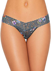 Hanky Panky Checkered Past Retro Low Rise Thong Zoom 1