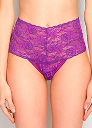 Hanky Panky Cross Dyed Retro Thong Zoom 2