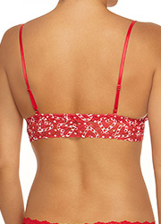 Hanky Panky I Heart Peppermint Triangle Bralette Zoom 2