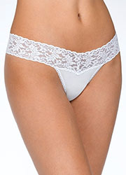 Hanky Panky Organic Cotton Low Rise Thong Zoom 2