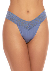 Hanky Panky Organic Cotton Original Rise Thong Zoom 2
