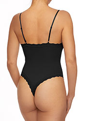 Hanky Panky Organic Cotton Thong Back Bodysuit Zoom 4