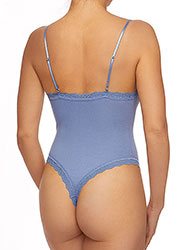 Hanky Panky Organic Cotton Thong Back Bodysuit Zoom 2