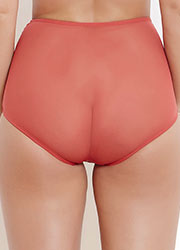 Katherine Hamilton Sophia Red Lace High Waisted Knickers Zoom 2