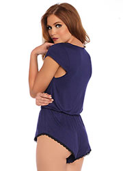 Leg Avenue Seraphina Brushed Jersey Romper Zoom 2
