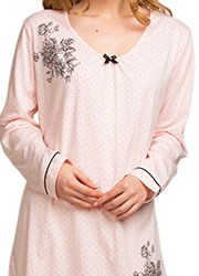 La Marquise Dot Elegance Nightdress Zoom 2