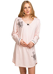 La Marquise Dot Elegance Nightdress Zoom 1