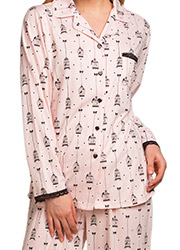 La Marquise Love Birds Pyjama Set Zoom 2